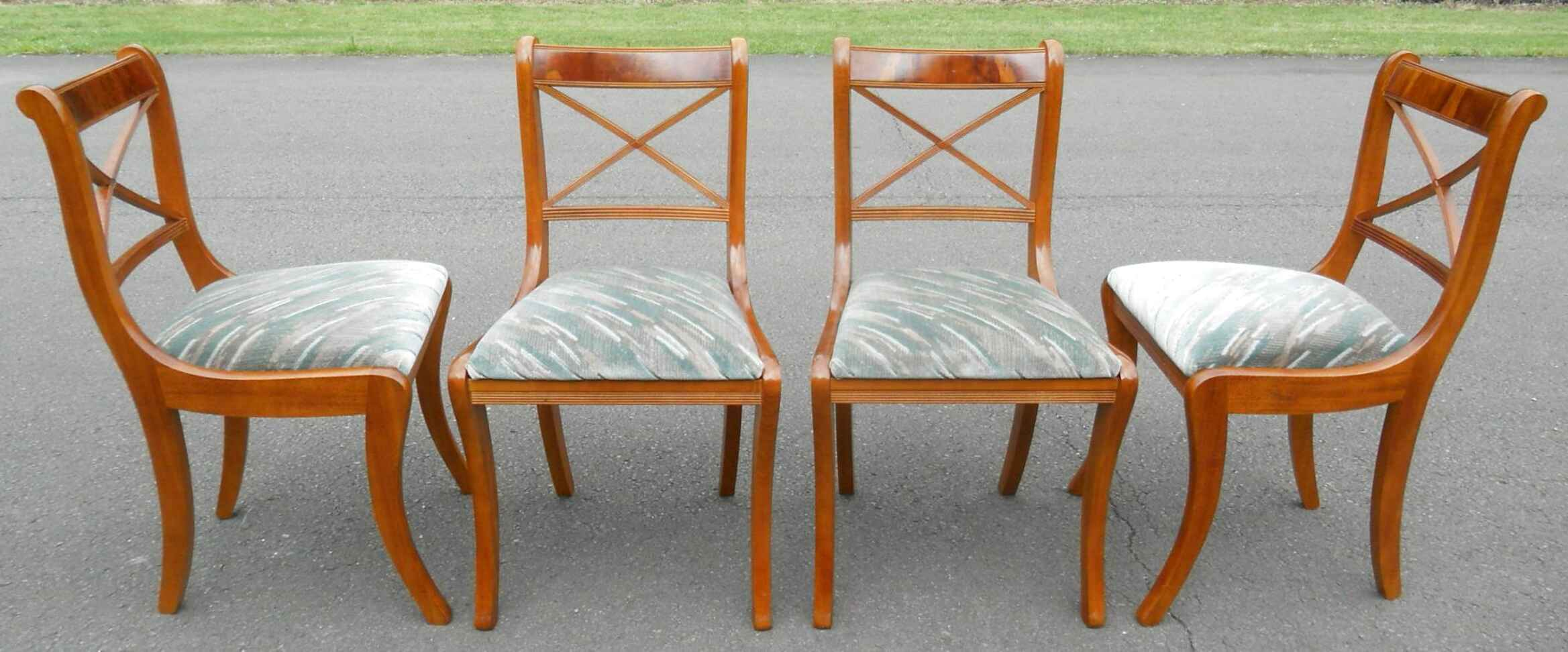 yew dining chairs for sale