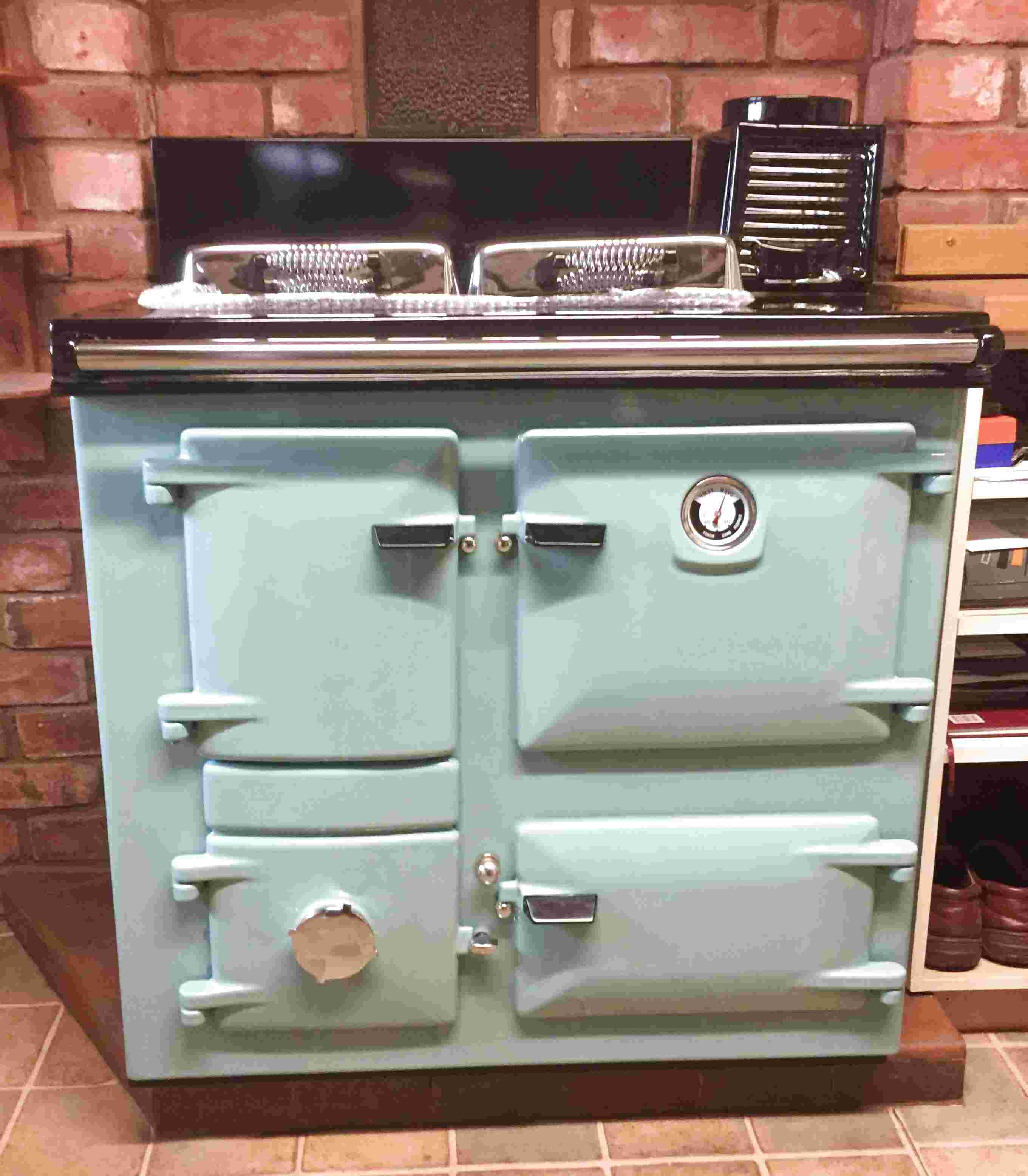 aga solid fuel cookers for sale
