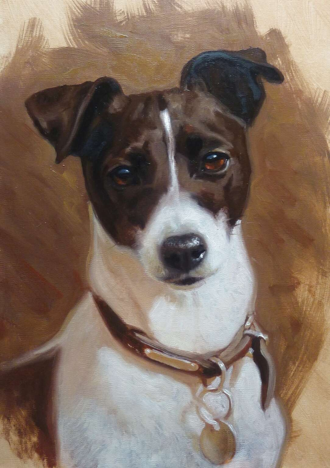 jack russell painting for sale