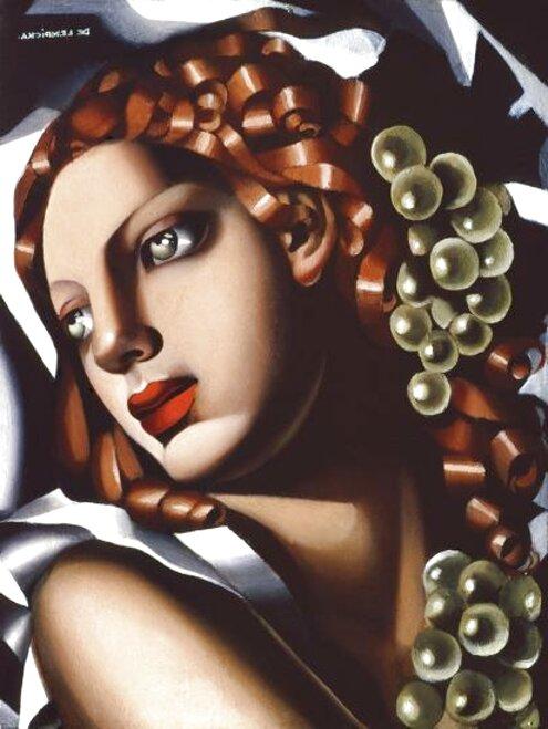 Tamara De Lempicka Art Artist Canvas Wall A2 A1 A0 Large Gift Present OC0043