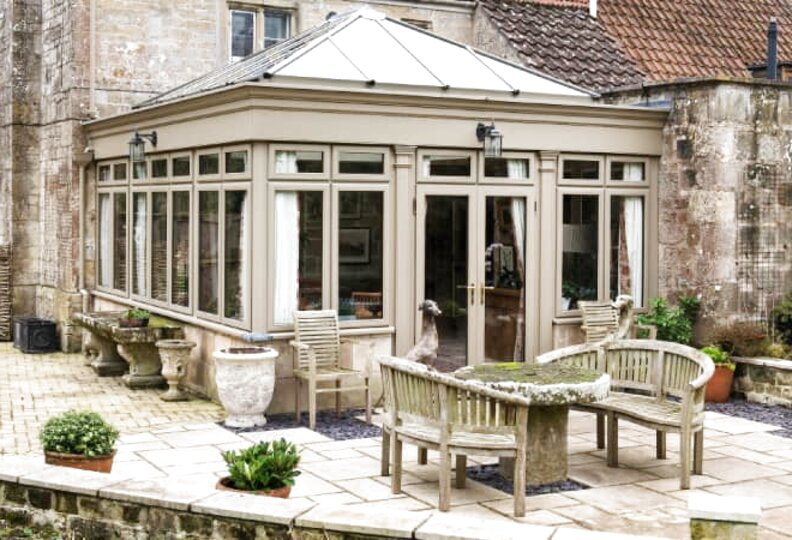 timber conservatory for sale