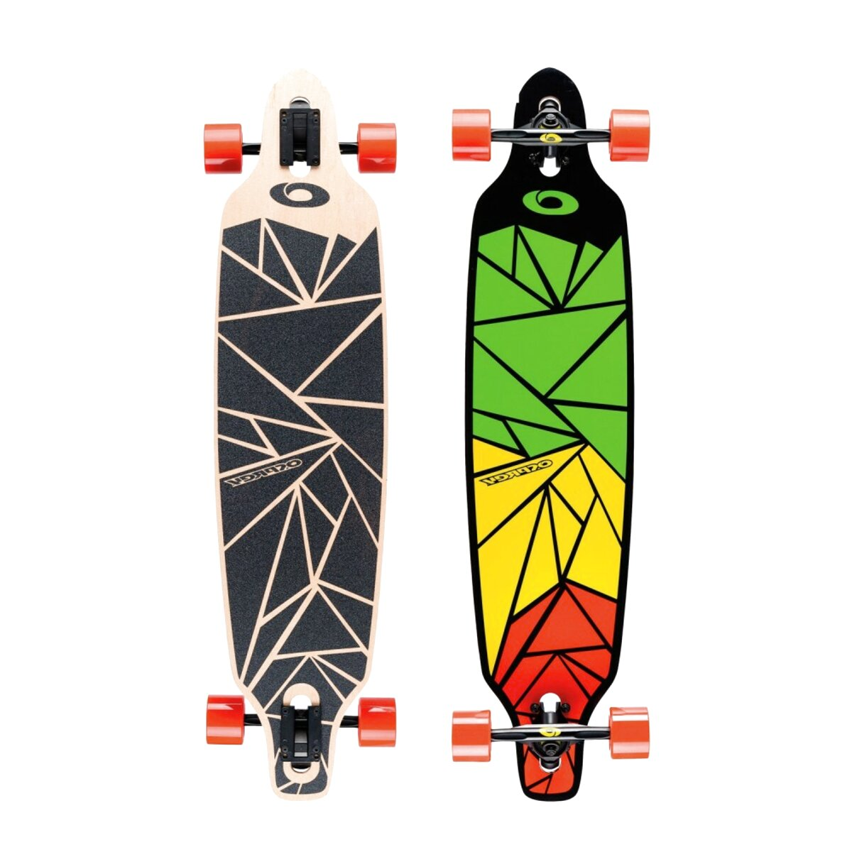 Two Bare Feet MD 824 Complete 46 Pintail Longboard Skateboard