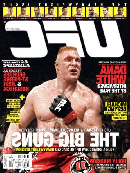ufc magazine for sale