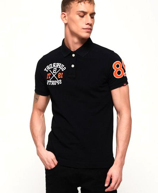 mens superdry polo shirt for sale