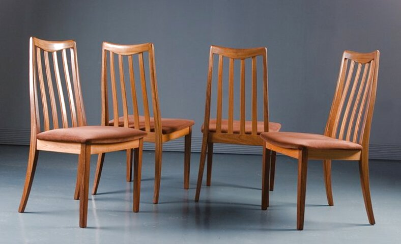 g plan teak dining chairs for sale