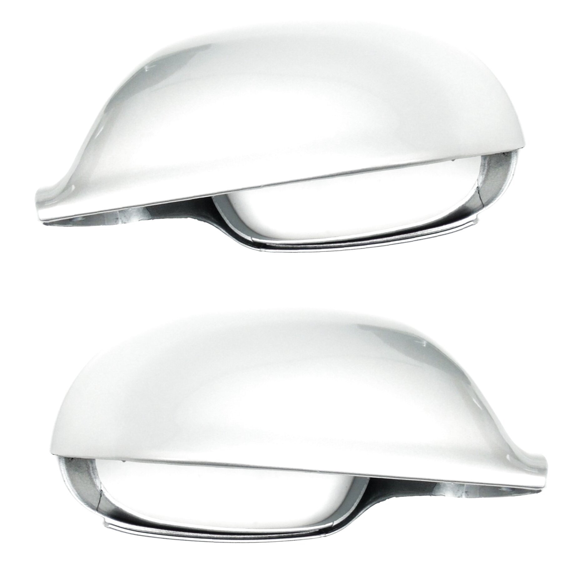 mk7 Reflex Silver Painted Door Wing Mirror Cover Cap Right Driver Side Underground Parts