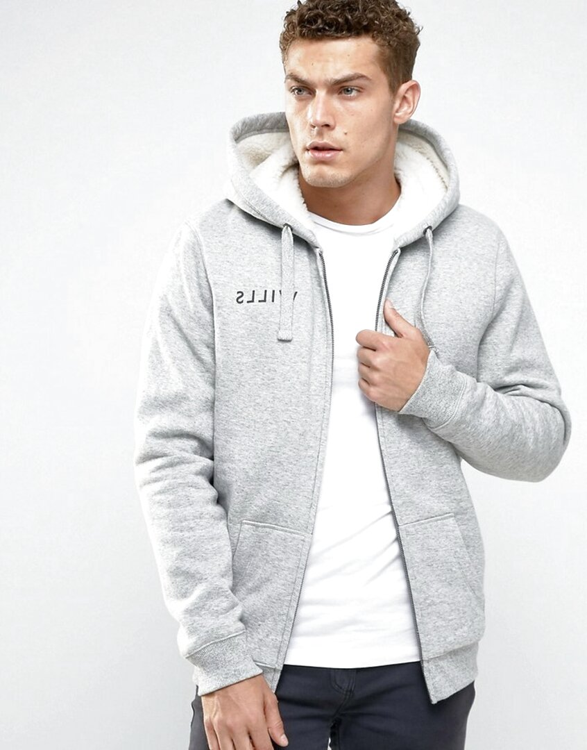 jack wills lined hoodie for sale