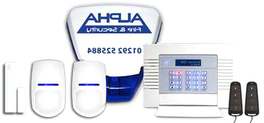 wirefree burglar alarm for sale