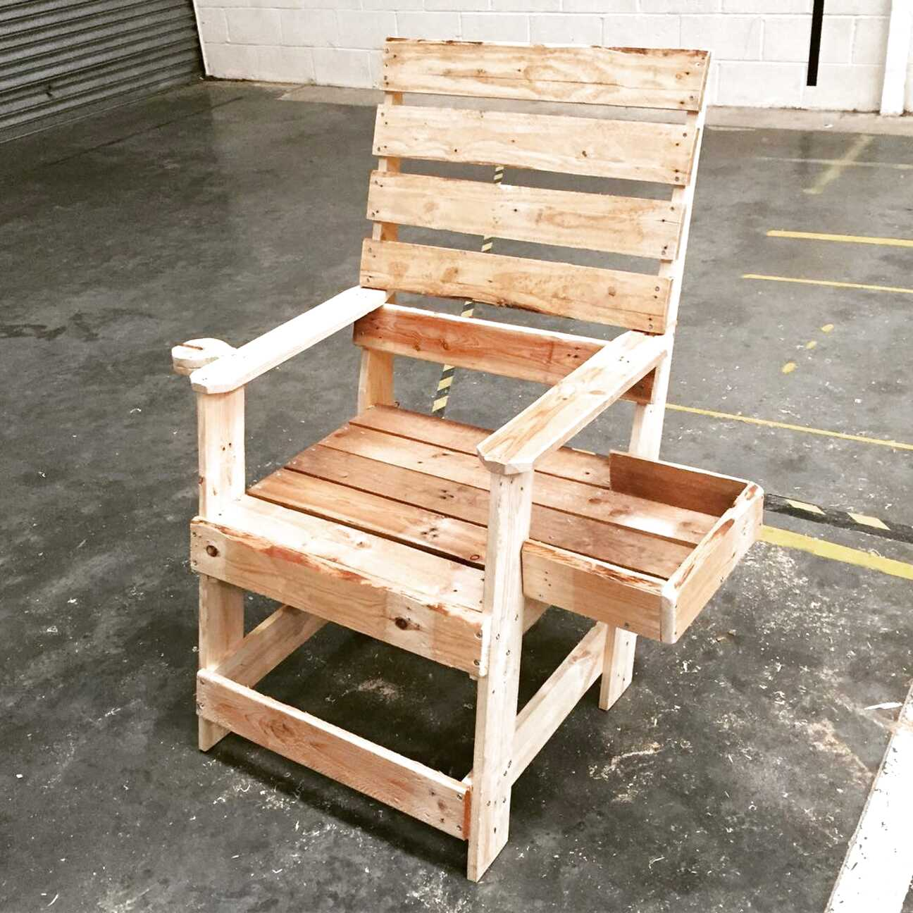 Pallet Chair For Sale In Uk 62 Used Pallet Chairs