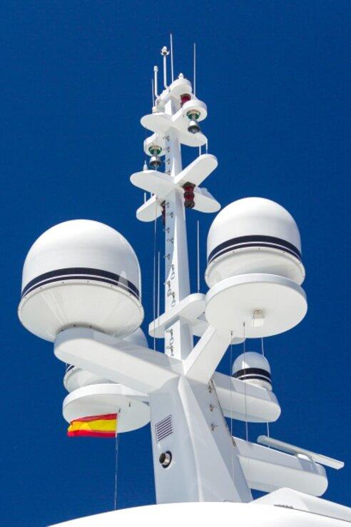 yacht radar for sale